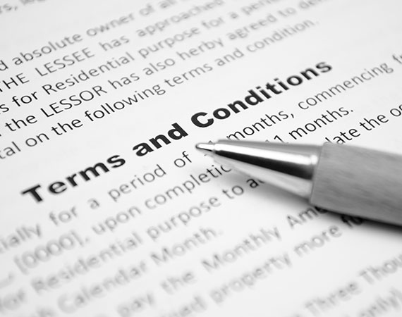 Advance Family Law Terms and Conditions